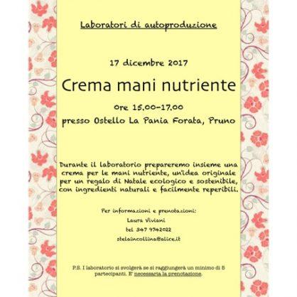 Laboratori di autoproduzione - Crema mani nutriente